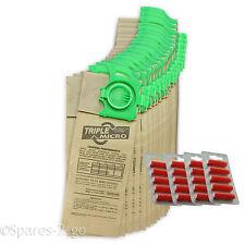 20 x SEBO Dart Felix 2 3 Vacuum Cleaner Hoover Dust Bags Double Lined & Freshnrs