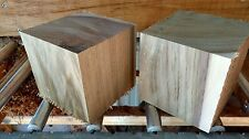 Walnut Bowl Blanks 4 x 4 x 4  Lot of 2 Turning Blocks Lumber Wood