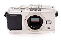 Olympus PEN E-P3 12.3MP Digital Camera - Silver (Body Only)