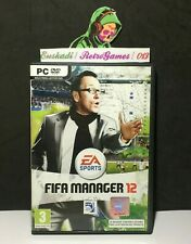 Fifa manager 12 // pc-dvd rom // pal spain-EA sports