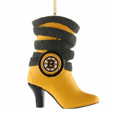 Boston Bruins Team Boot Ornament