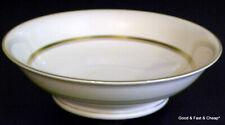 "SYRACUSE OLD IVORY china KENT Gold pattern ~ Round Vegetable Bowl ~ 9"""