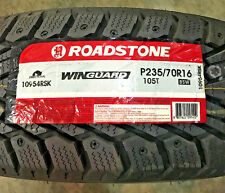 4 New 235 70 16 Roadstone Win Guard Snow Tires