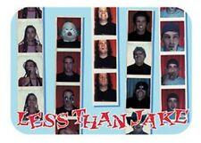 LESS THAN JAKE - Passport - Aufkleber / Sticker - Neu #174