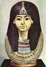 Alte Kunstpostkarte - Masque funéraire égyptien
