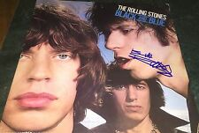 Keith Richards Rolling Stones Hand Signed Black And Blue Album w/COA Proof Look