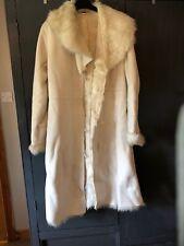 Winter White Faux Fur Coat 12