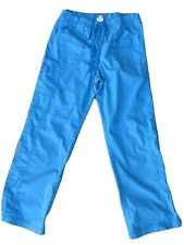 Wonderwink Scrub Pants Women's Size Md Bright Blue