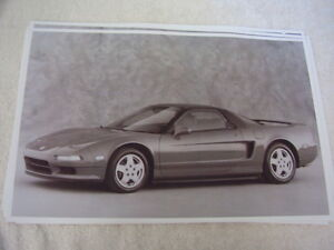 1991 ACURA NSX   11 X 17  PHOTO  PICTURE