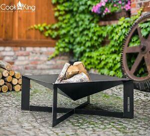 Feuerkorb Cuba 70 x 70 cm Terassen / Gartenfeuer  Cook King Stahl
