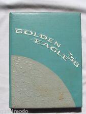 1956 EL SEGUNDO HIGH SCHOOL YEARBOOK, EL SEGUNDO, CALIFORNIA  GOLDEN EAGLE