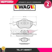 1255 Kit pastiglie freno, Freno a disco ant.Ford-Mazda (MARCA-WAG)
