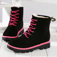 Women Winter Warm Ankle Snow Boots Fur Ski Outdoor Martin Work Shoes Anti Slip