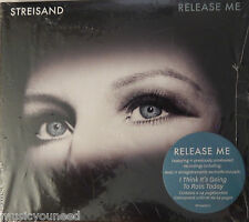 Barbra Streisand - Release Me [Digipak] (CD 2012, Columbia) NEW - Side Punchhole