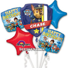 Paw Patrol Authentic Licensed Foil / Mylar Balloon Bouquet