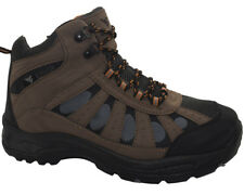 New Mens Ankle High lace Up Trail Comfy Walking Hiking Trekking Boots Trainers S