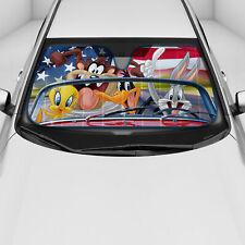 Reversible Car Auto Shade Sun Window Reflector, Looney Tunes Road Trip Tweety