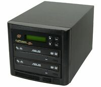Duplicator Copystars 1-1 CD DVD Copier Asus 24X DL burner duplication tower