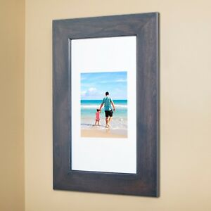 Recessed Medicine Cabinet with picture frame door, NO MIRROR, 10+ colors, 14x24