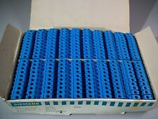 Siemens Single Pole Terminal Blocks 8WA1 011-1BG11 750V Lot of 100