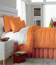 Studio D Aria One Euro Pillow Sham 26 x 26 Orange