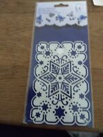 ENGLISH EMBOSSING (J156) 14 X 8 CM NEW