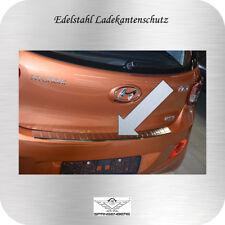 Profil Ladekantenschutz Edelstahl für Hyundai i10 II Schrägheck ab Bj. 11.2013-