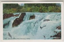 USA postcard - Salmon Leaping Falls, Ketchikan, Alaska (A7)