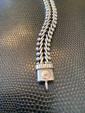 """Vintage Tabra Sterling Connector Bracelet 5.75"""""""