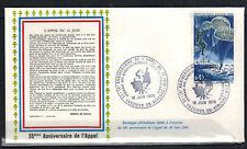 1975-Enveloppe-Fdc 1°Jour**Appel du 18 Juin-Obl.Vassieux.Timbre.Yt.1603