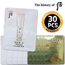 The history of Whoo Soo Yeon Hydrating Overnight Mask 4ml x 30pcs (120ml) Sample
