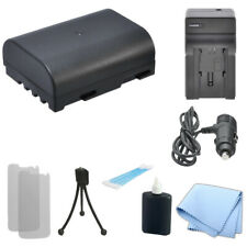 DMW-BLF19 Battery, Home/Car Charger for Panasonic Lumix DMC-GH3 CF-GPH3 DDMC-GH4