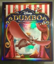 Dumbo Collector's Premium Package (Blu Ray/DVD) NEW DISNEY OOP +COA, Lithograph