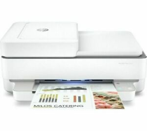 HP Envy Pro 6432e All in One Wi-Fi Printer - White (some ink) R