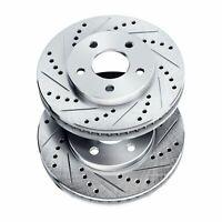 Brake Rotors [FRONT] POWERSPORT DRILL/SLOT -Chrysler SEBRING 2001 - 2006 Sedan