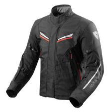 Chaquetas negros textiles Rev'it para motoristas