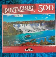 Niagara Falls USA Puzzlebug 500 piece to puzzle 18.25x 11in