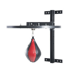 Speed Punching Bag Hanging Boxing Ball Wall-Mounted MMA Sports Training Fitness