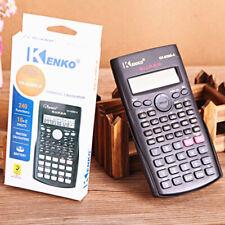Handheld Multi-function 2-Line Display Digital LCD Scientific Calculator Zwr