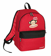 PAUL FRANK - JULIUS MONKEY BRACES SCHOOL BACKPACK - RED