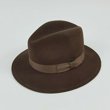 Orvis Men's S Lite Felt 100% Wool Packable Water Repellent USA Made Fedora Hat