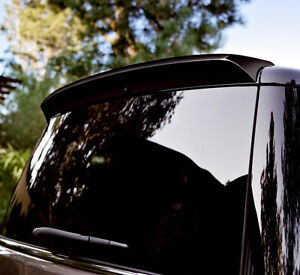 2009-2019 UN-PAINTED/GREY PRIMER REAR HATCH SPOILER FOR FORD FLEX WITH NOTCH OUT