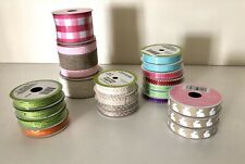 Lot Of Rustic Country Spring Easter Ribbons - Retails Over $75