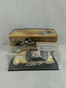 Tony Stewart #20 Home Depot/2002 Winston Cup Championship 1:24 Monte Carlo Gold