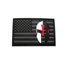 USA FLAG CRUSADER KNIGHTS TEMPLAR INFIDEL PVC PATCH (PVC-3.0 X 2.0 TK1)