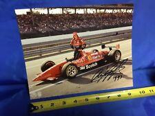 Indianapolis Indy 500 1993 ARIE LUYENDYK SIGNED Qualifying Photo