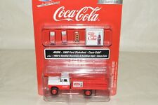 HO Classic Metal Works Coke Coca-Cola soda machine stake bed truck set Ford 1960