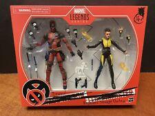 Marvel Legends Deadpool & Negasonic Teenage Warhead 2 Pack EMF7838