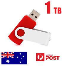 1TB USB 2.0 Flash Ultra Drive Disk Memory Stick Pen Thumb Storage Swivel Red New