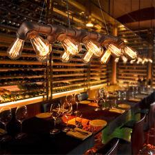 10 Heads Industrial Pendant Light Cafe Restaurant Ceiling Lamp Hanging Fixture